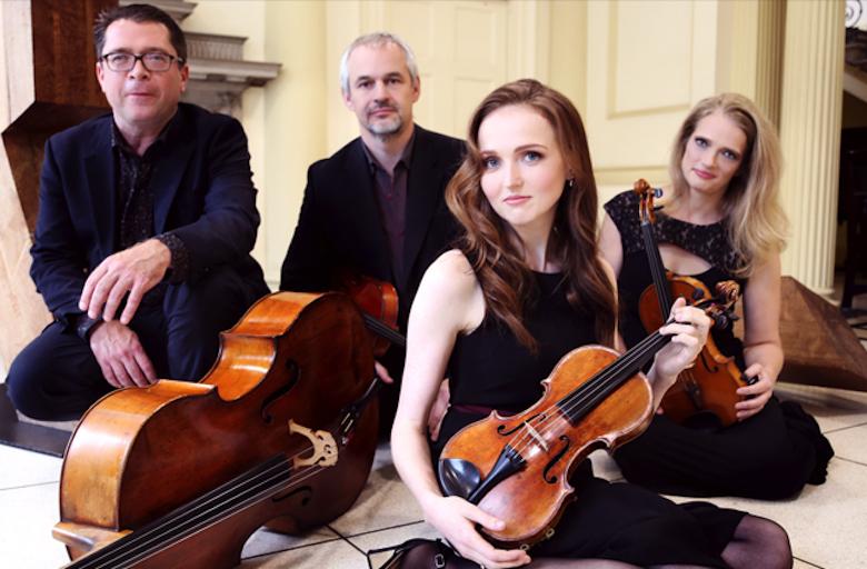 Esposito Quartet Perform Sebastian Adams Work border=