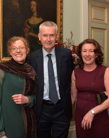 Evonne Ferguson with Ambassador O'Neill