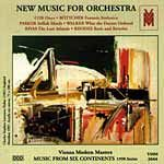 New Music for Orchestra (1998) cover