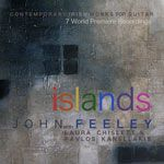 Islands : Contemporary Irish Solo and Ensemble Works for Guitar cover