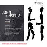 John Kinsella: Orchestral Works cover