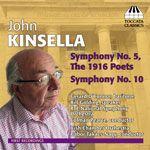 John Kinsella: Symphonies  cover