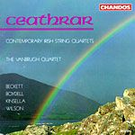 Ceathrar: Contemporary Irish String Quartets cover