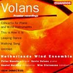 Volans/Concerto for Piano and Wind cover
