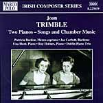 Trimble: Songs and music for two pianos cover